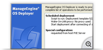 Solution for ManageEngine OS Deployer