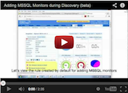 Adding MSSQL Monitors during Discovery
