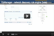 Network Discovery Rule Engine