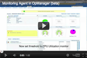 Agent-based Monitoring in OpManager