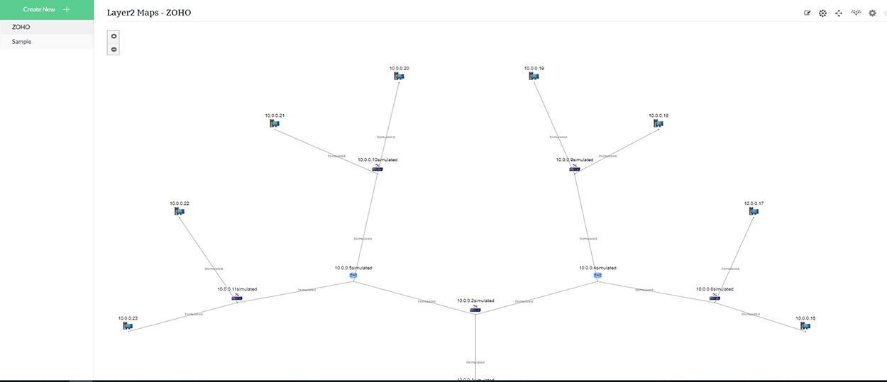 网络拓扑图软件 - ManageEngine OpManager