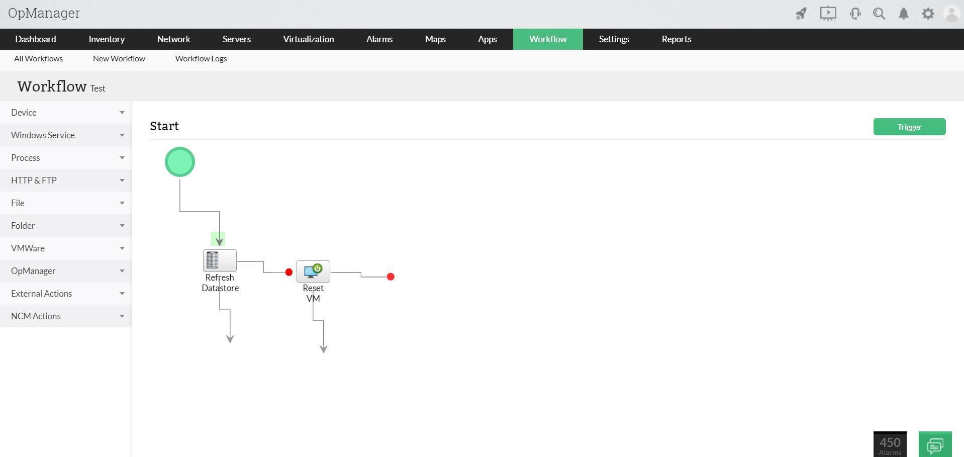 服务器管理进程 - ManageEngine OpManager