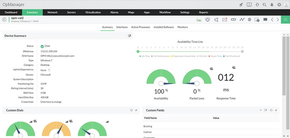 企业网络监控系统 - ManageEngine OpManager