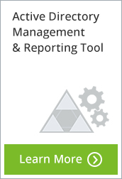 Active Directory Management and Reporting