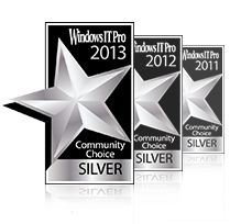 WindowsNetworking.com Readers' Choice Awards - ManageEngine ADManager Plus wins runners up in the AD Management category