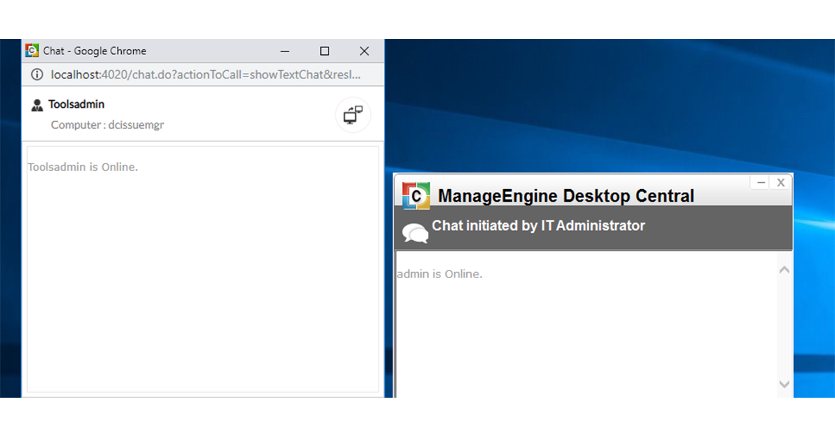 远程桌面工具 - ManageEngine Desktop Central