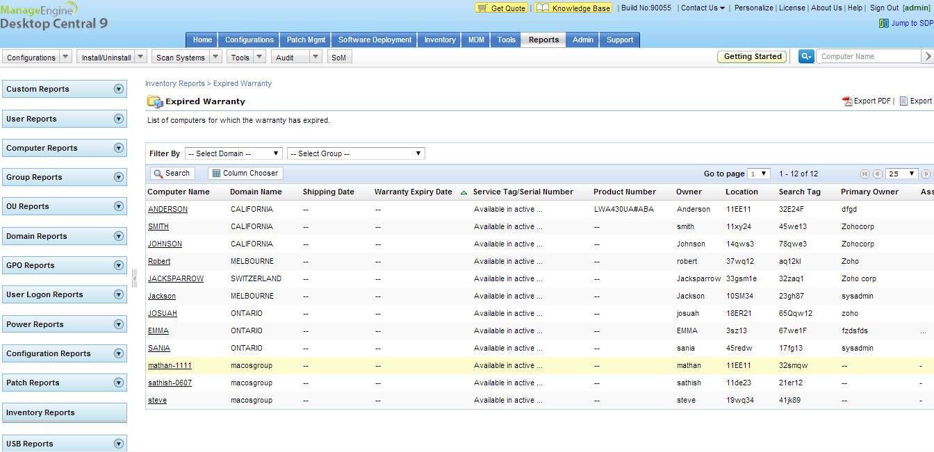 保修管理系统 保修跟踪软件 终端安全管理系统